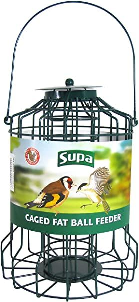 Supa Caged Fat Ball Feeder 26CM