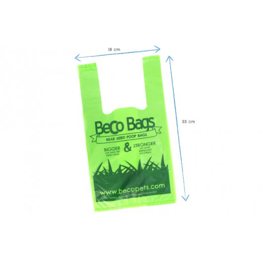 Beco degradeable Bags with Handles x 120 bags - not rolls