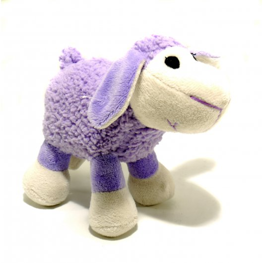 Small Bite Plush Lamb Toy Lilac 15cm
