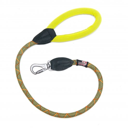Long Paws Comfort Collection Rope Lead Green 2 sizes available
