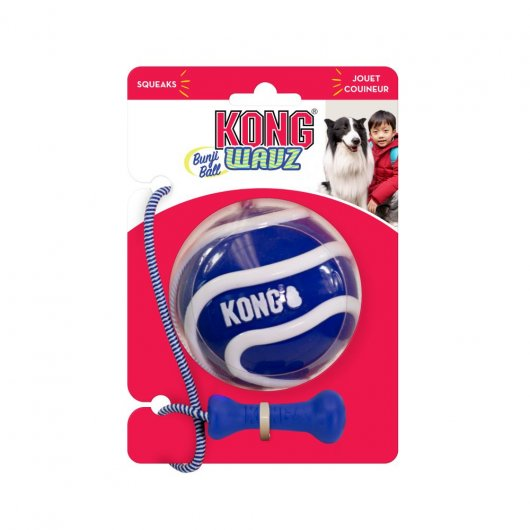 KONG Wavz Bunjiball  2 sizes available - no colour option