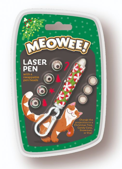 Meowee! Christmas Laser Pen Cat Toy