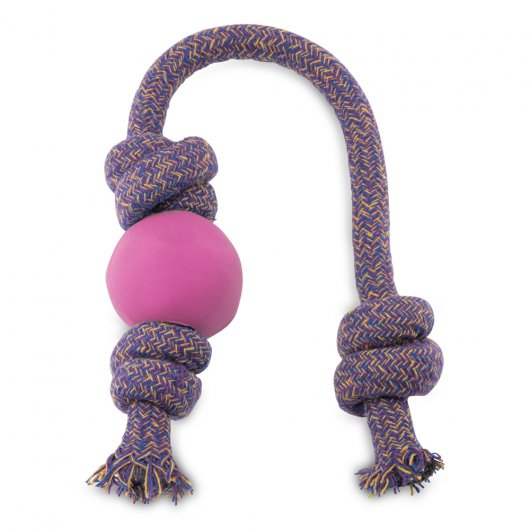 Beco Ball On A Rope Pink Large