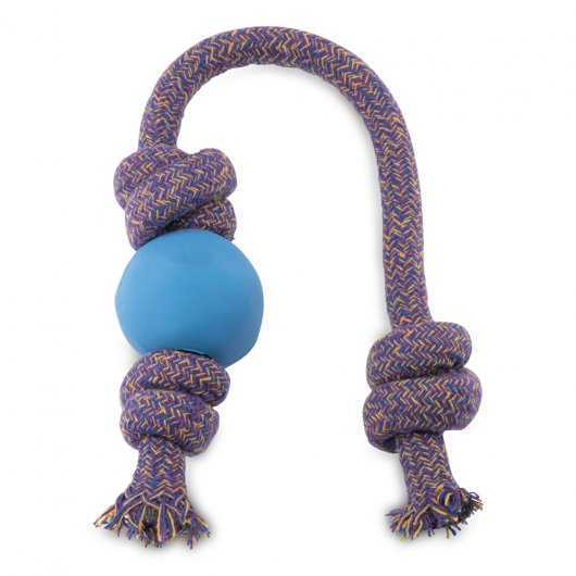 Beco Ball On A Rope Blue Large
