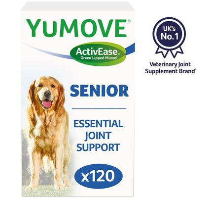 YuMOVE Joint Supplement for Senior Dogs 120 pack